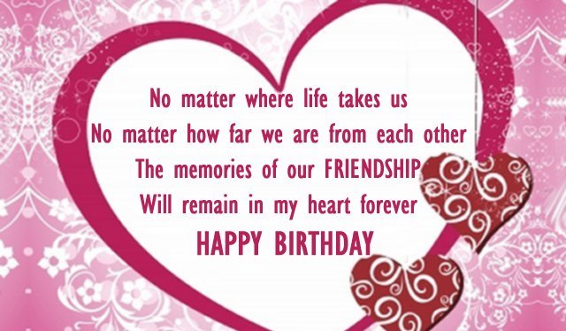 Birthday Wish For Best Friend Forever In English For Whatsapp