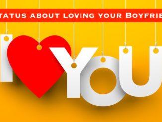 Status about Loving your Boyfriend