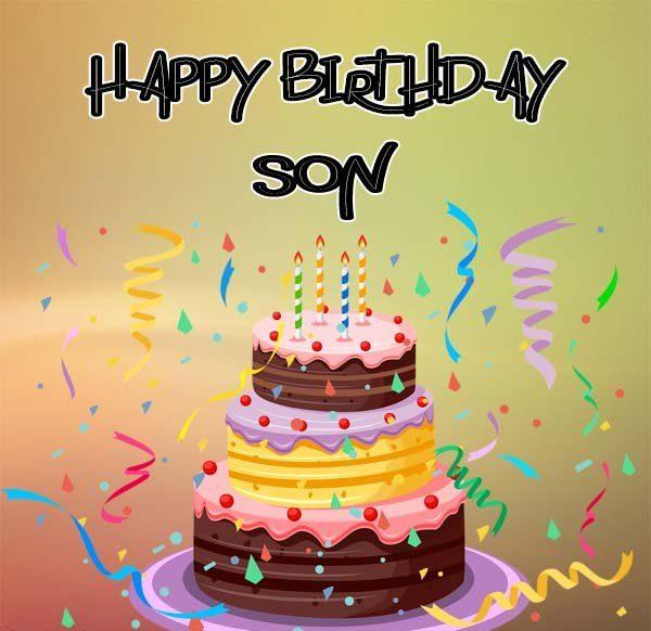 Happy Birthday Son Images