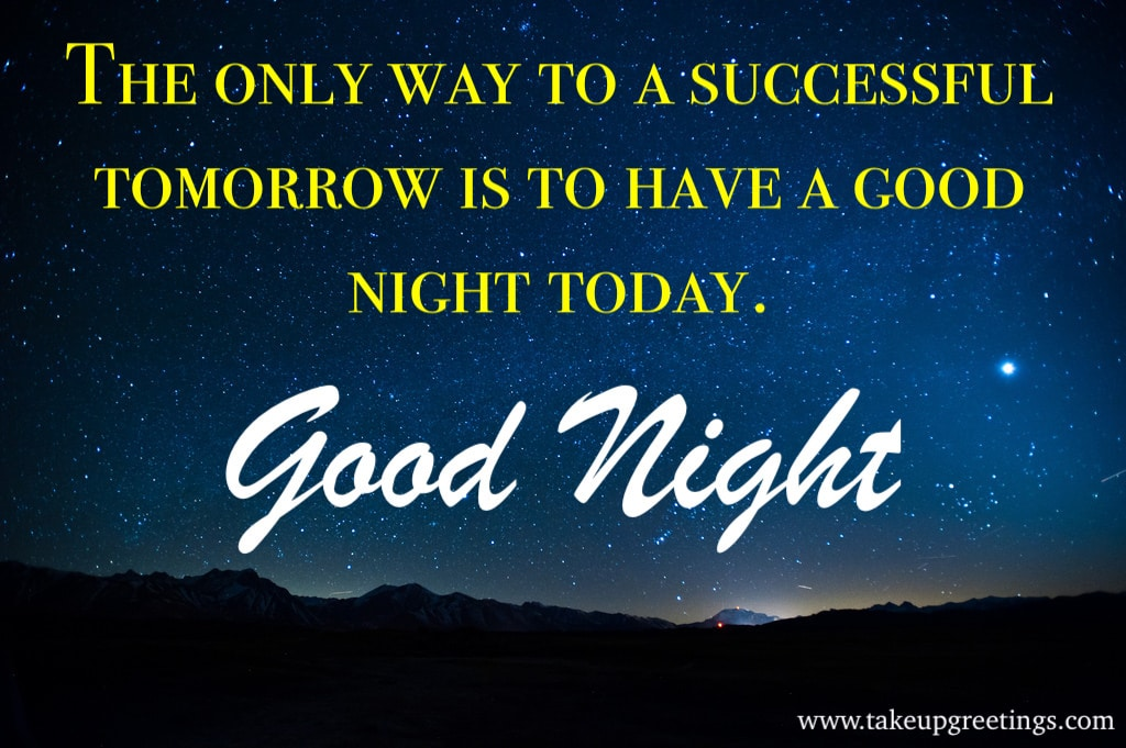Good Night Messages in English