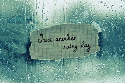 Rain Status and Short Rain Quotes