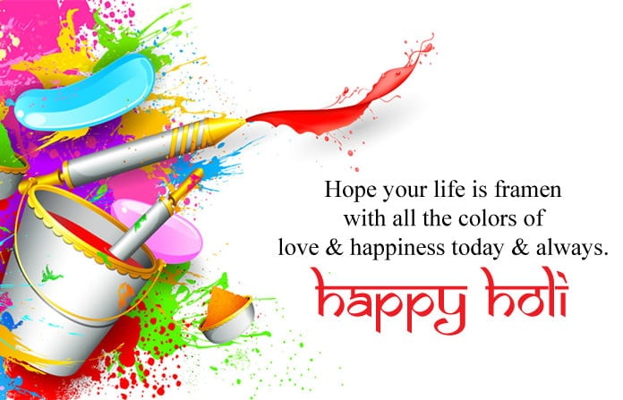 Happy Holi Wishes, Messages and Quotes in English   Take