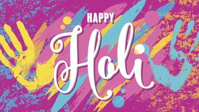 Holi Wishes in English