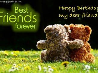 Birthday Status for Best Friend