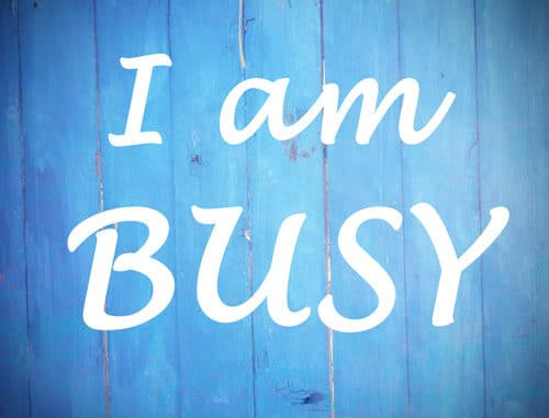 Busy Status Quotes