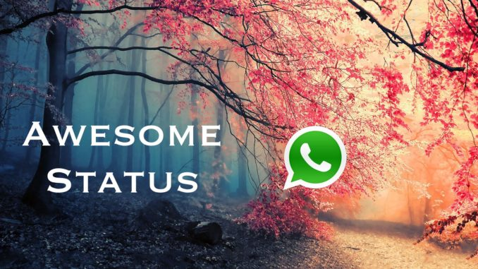 Awesome Status for Whatsapp
