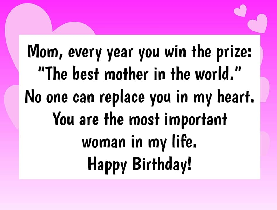 Best Birthday Wishes For Mother